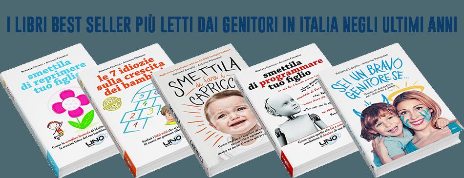 I libri best seller più letti dai genitori in Italia negli ultimi anni